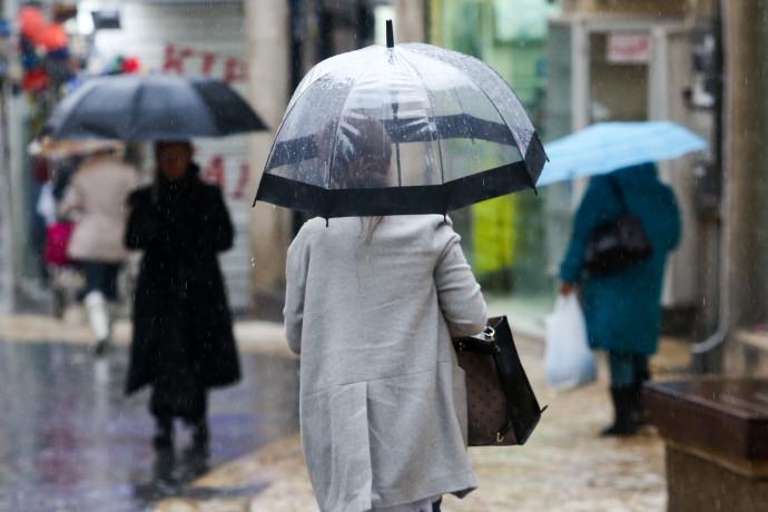 גשם בירושלים