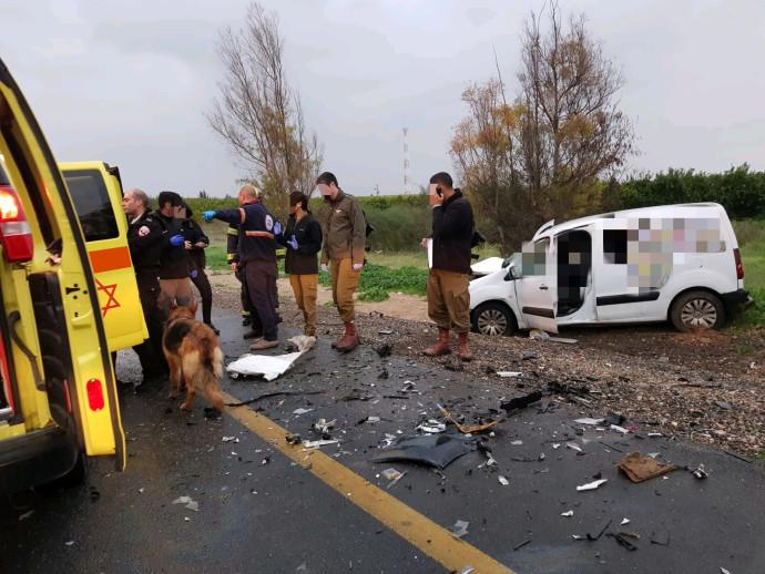 תאונת דרכים סמוך לבארי
