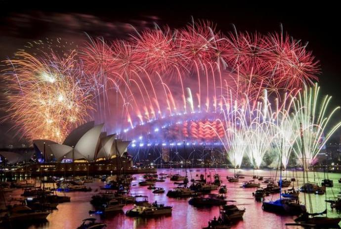 חגיגות השנה החדשה בסידני, אוסטרליה