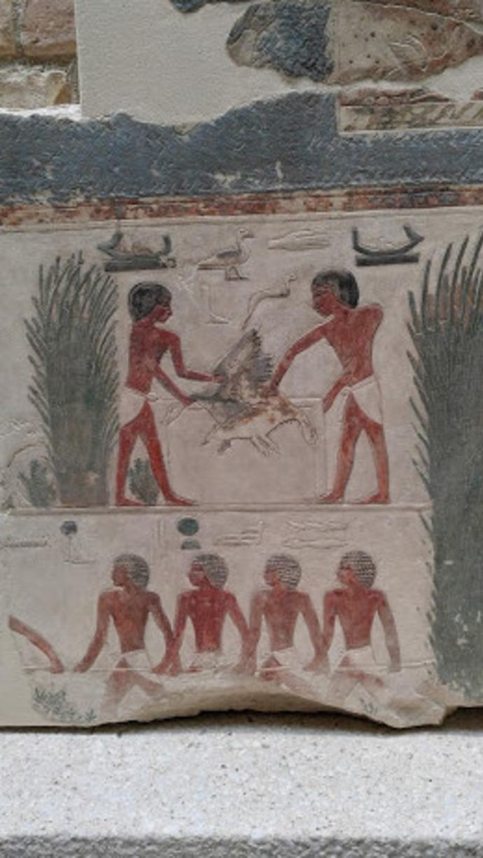 קטע מקבר במצרים, אי המוזאונים, ברלין