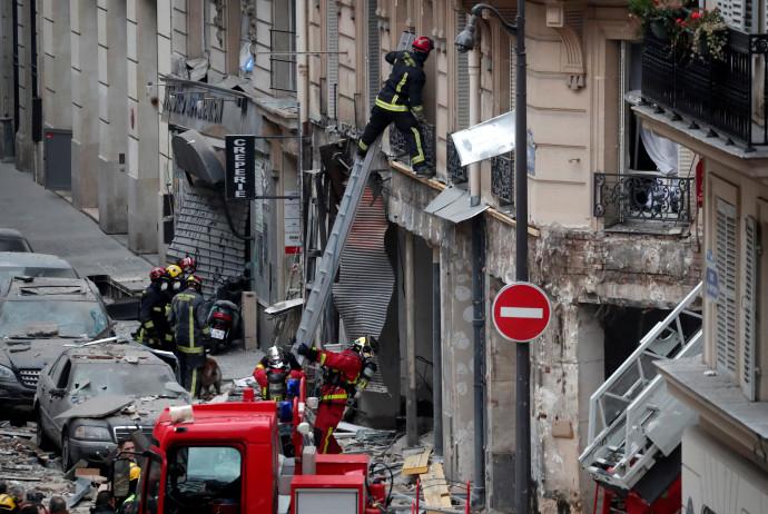 פיצוץ במאפייה בפריז