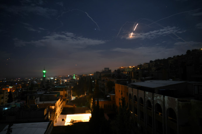 תקיפה בסוריה