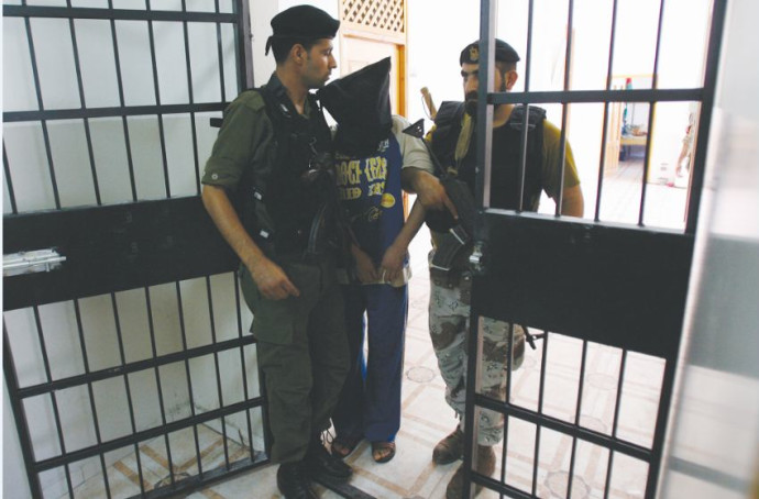 חשוד בשיתוף פעולה עם ישראל בתא מעצר בג'נין