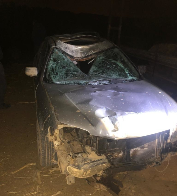 חשד לתאונת פגע וברח בנגב