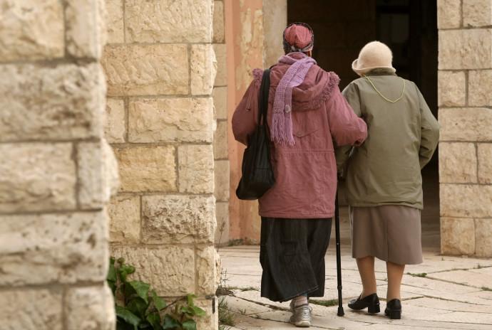 קשישות (אילוסטרציה)