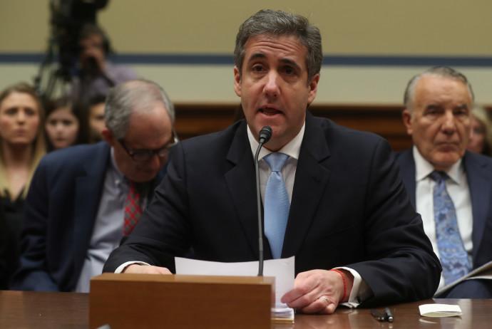 מייקל כהן מעיד בקונגרס