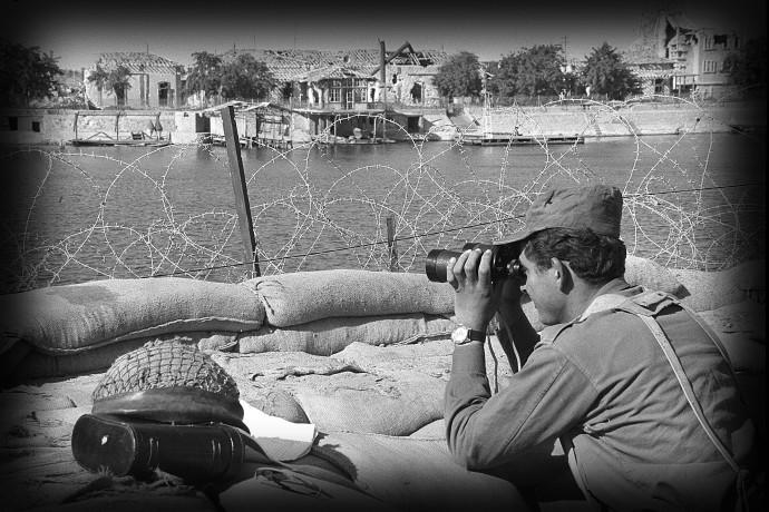 מלחמת ההתשה חזית מצרים סואץ