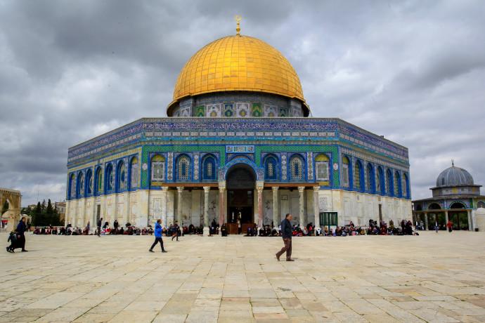 מסגד אל אקצה, הר הבית