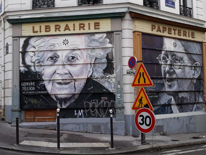 אומנות רחוב בפריז