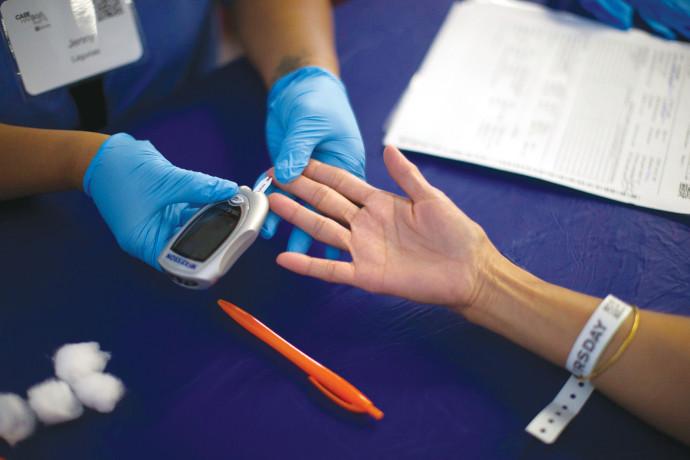 בדיקת סוכרת