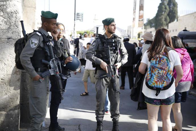 """כוחות מג""""ב בירושלים"""