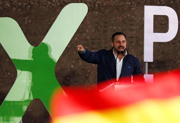 מנהיג VOX, סנטיאגו אבסקאל