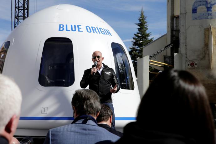 קפסולת החלל New Shepard של Blue Origin