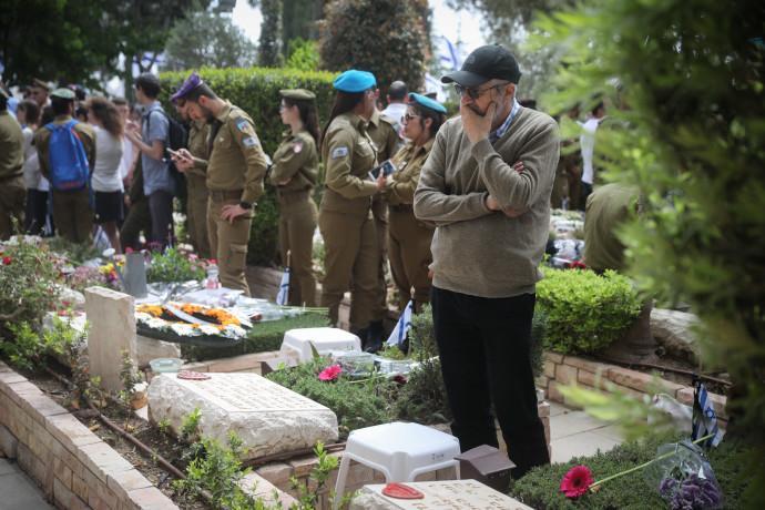 טקס יום הזיכרון לחללי מערכות ישראל בהר הרצל