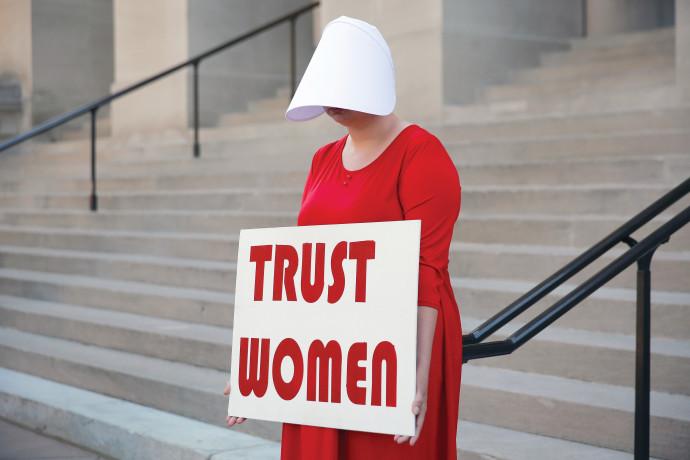 """הפגנות נגד הפלות בארה""""ב"""