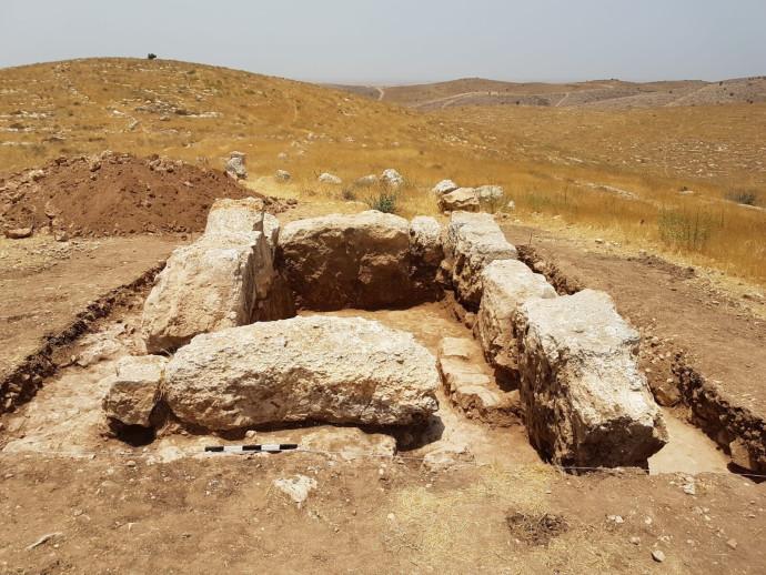 מגדל התצפית מהמאה ה-8 לפני הספירה