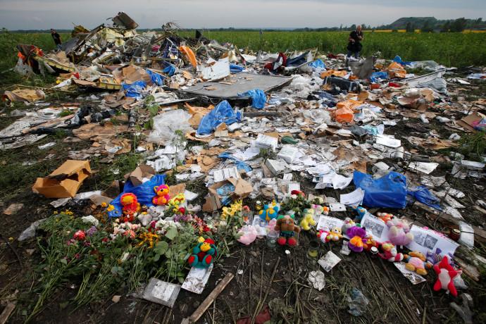 התרסקות המטוס המלזי באוקראינה