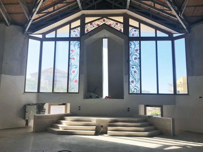 בית הכנסת שנבנה בטלמון
