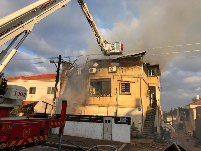 שריפה בביתה של כרמל מעודה