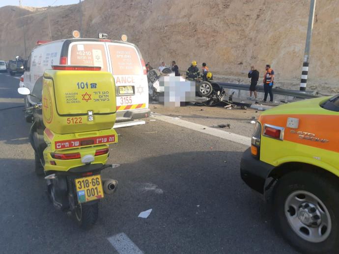 תאונת הדרכים בכביש 1