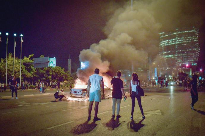 מחאת יוצאי אתיופיה בתל אביב, ארכיון