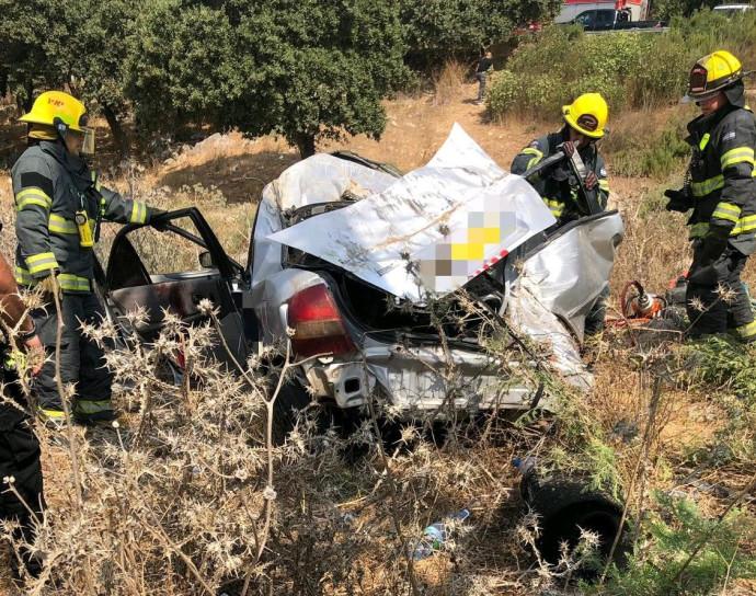 תאונה בצומת המוביל