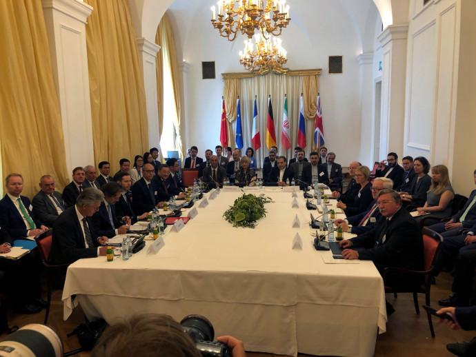 פגישת החירום בין איראן למעצמות בנושא הסכם הגרעין