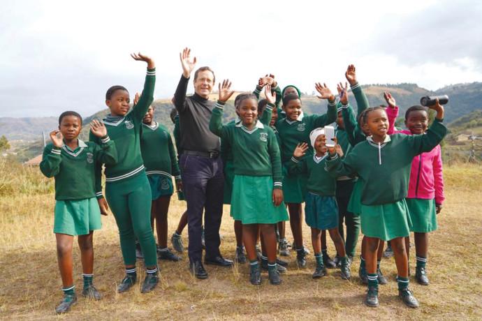 יצחק הרצוג בדרום אפריקה