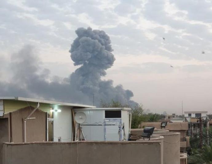 פיצוץ במחסן תחמושת איראני