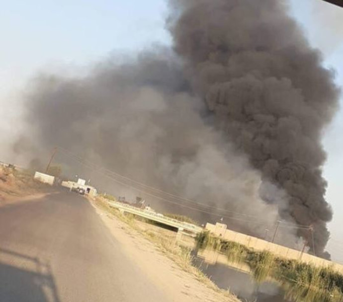 תקיפה על מוצב של גדודי חיזבאללה בעיראק