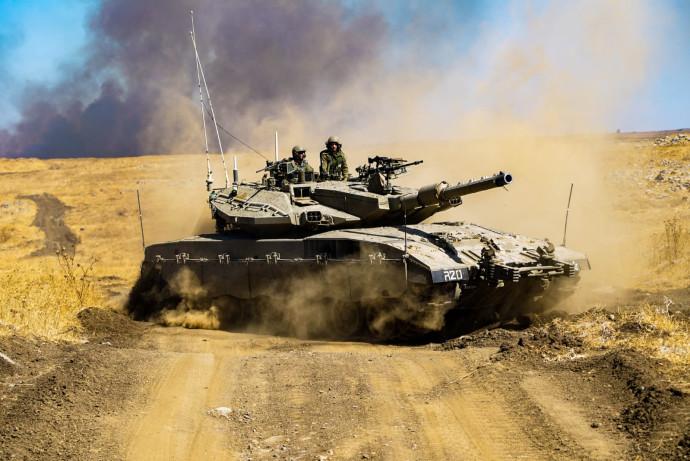 """טנק של צה""""ל (ארכיון)"""