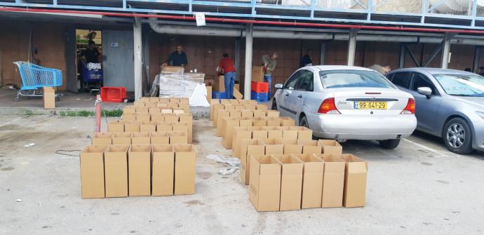 איסוף מזון לנזקקים