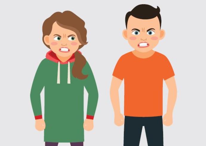 ילדים כועסים