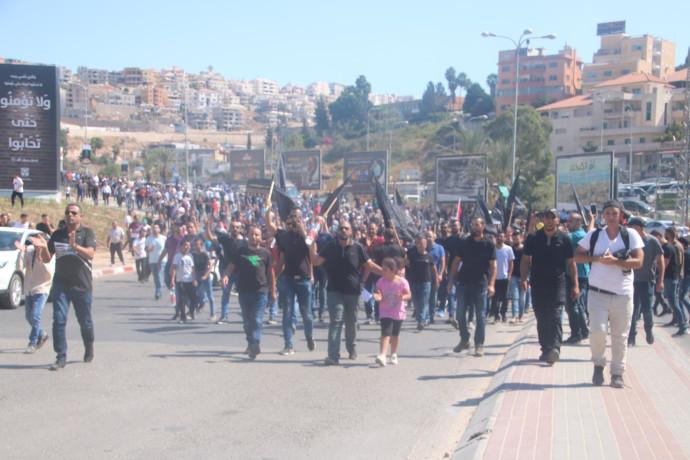 המחאה במגזר הערבי