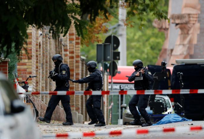 אירוע ירי בבית כנסת בגרמניה