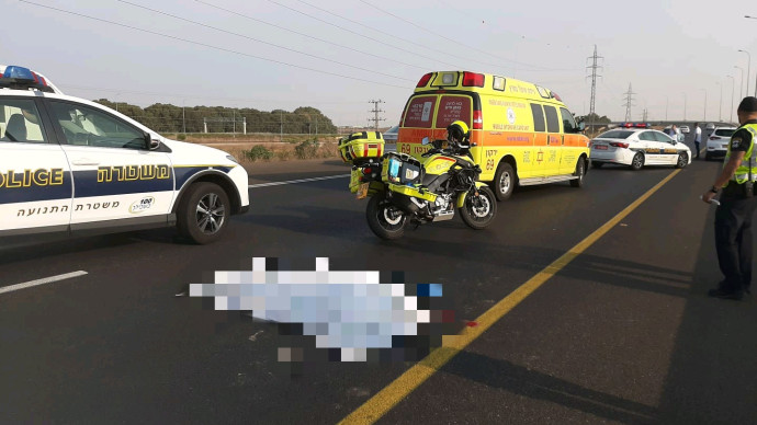 הרוג בתאונה בכביש 20