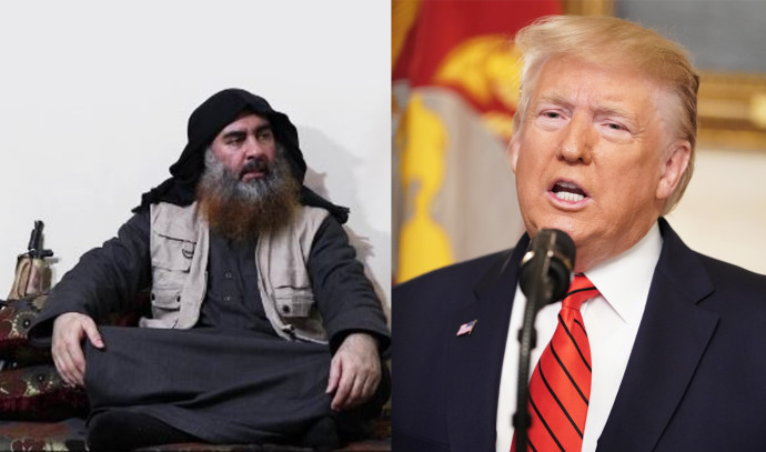 טראמפ, אבו בכר אל בגדאדי
