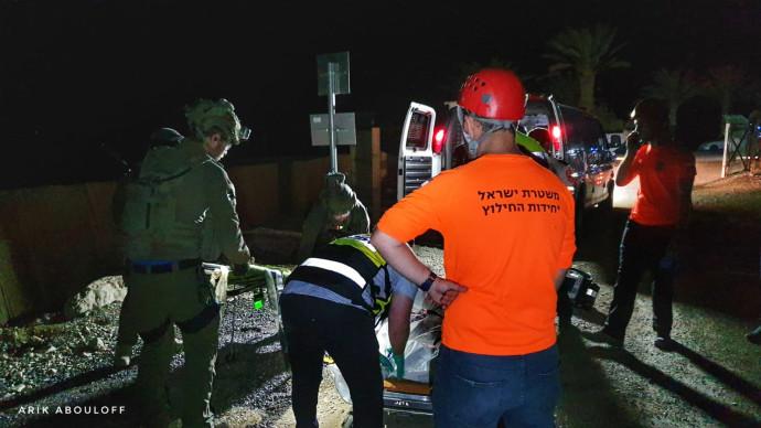חילוץ המטיילים במדבר יהודה
