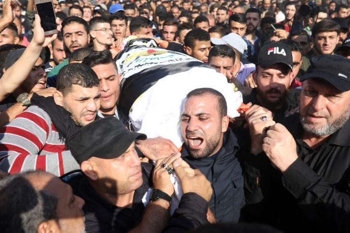 הלווייתו של בהאא אבו אל-עטא
