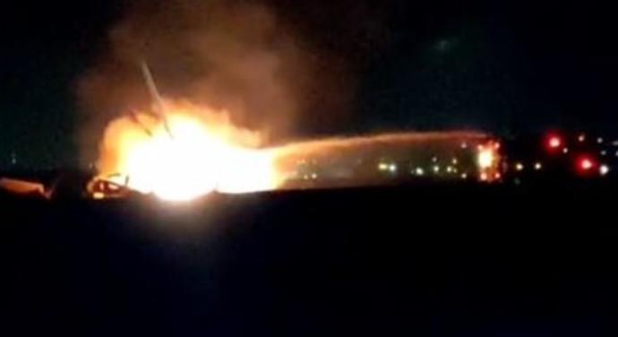 מסוק צבאי ביצע נחיתת חירום בדרום והתרסק
