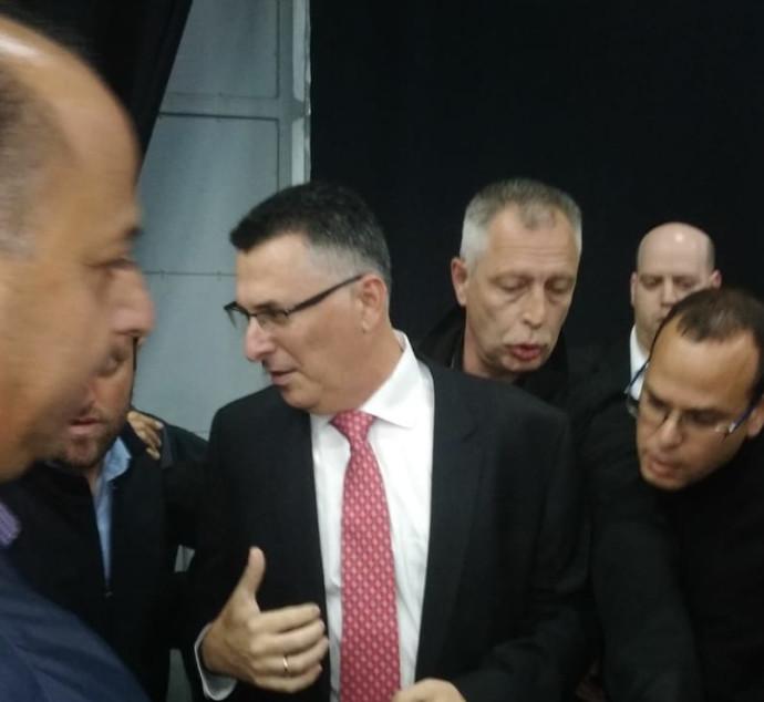 גדעון סער בכינוס מרכז הליכוד