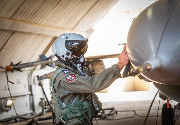 אילוסטרציה - טייס חיל האוויר