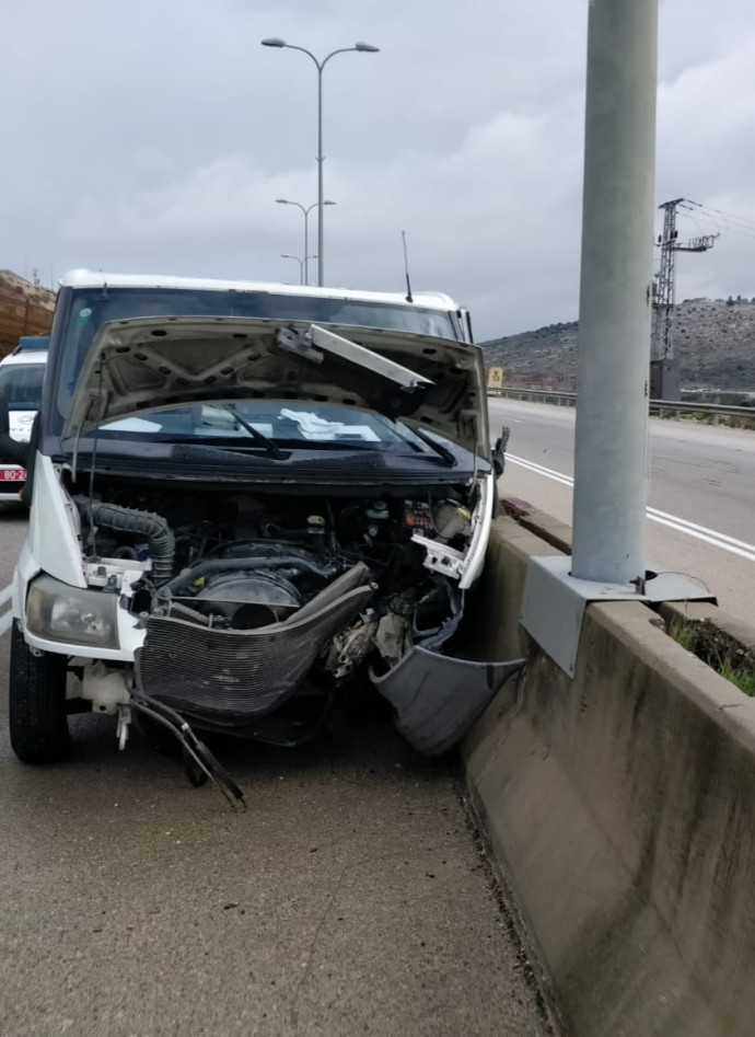 התאונה בכביש 5