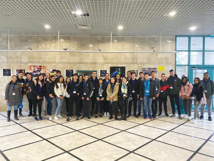 תלמידי אורט מתגייסים לשימור זכר השואה