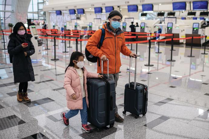 השפעות נגיף הקורונה בשדה התעופה