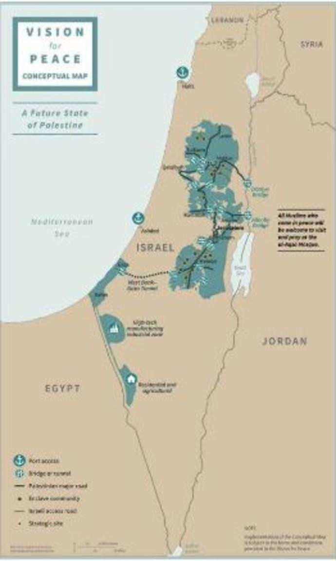 """מפת ישראל ע""""פ התכנית"""