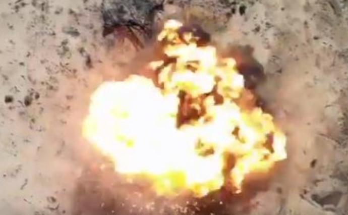 פיצוץ בלוני תבערה