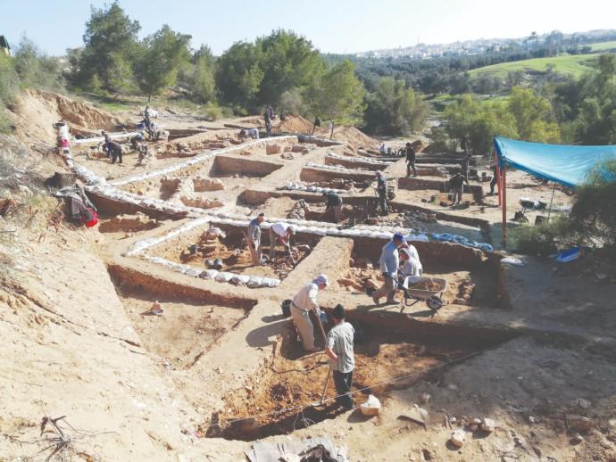 שרידים של יישוב ביזנטי מלפני כ־1,300 שנה