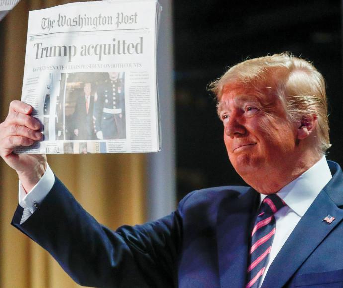 """נשיא ארה""""ב דונלד טראמפ (צילום: רויטרס)"""