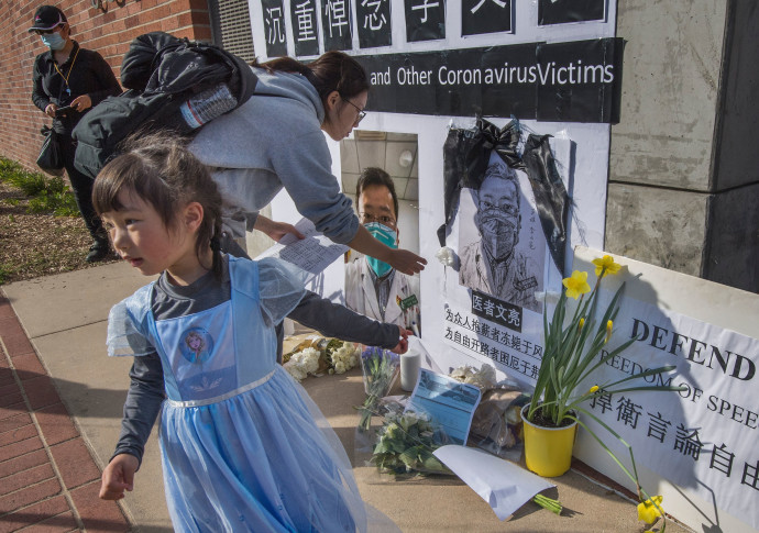 נפרדים מקורבנות הקורונה בסין